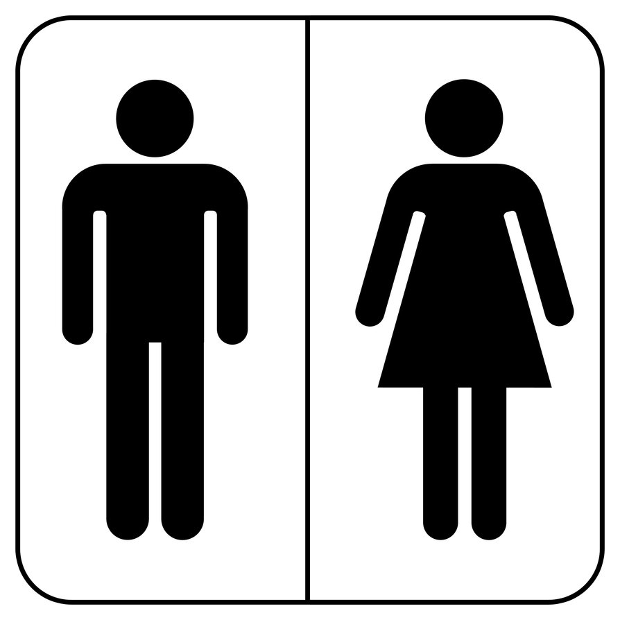 Bathroom sigh clipart freeuse stock Free Toilet Sign, Download Free Clip Art, Free Clip Art on Clipart ... freeuse stock