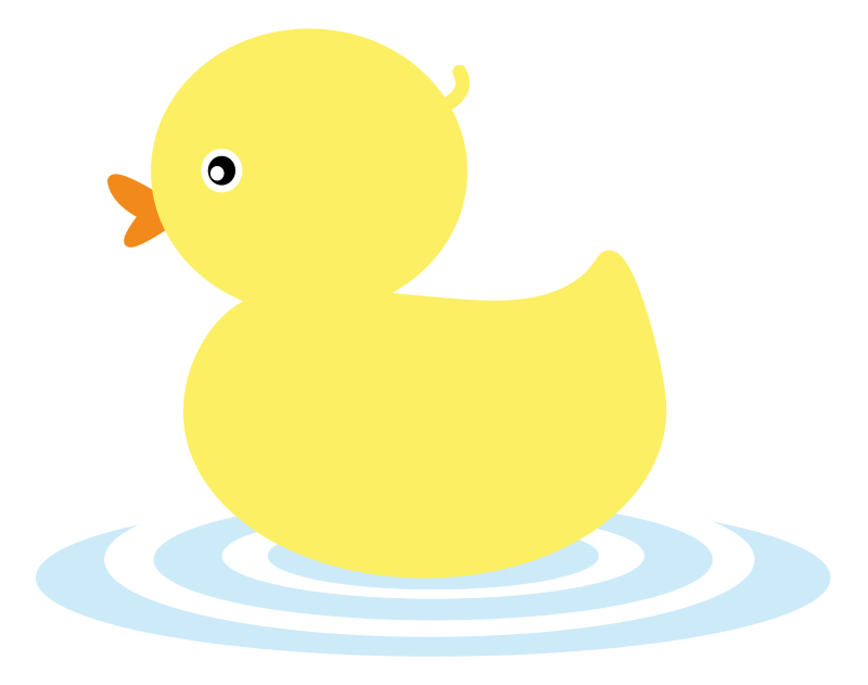 Bathtub of money clipart banner black and white library This cute yellow duckling clip art is great for use on whatever ... banner black and white library