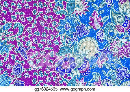 Batik pattern clipart freeuse Stock Illustration - Pattern for traditional clothes include batik ... freeuse
