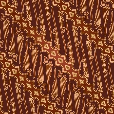 Batik pattern clipart svg black and white library Stock Vector | Batik design in 2019 | Batik parang, Batik pattern ... svg black and white library