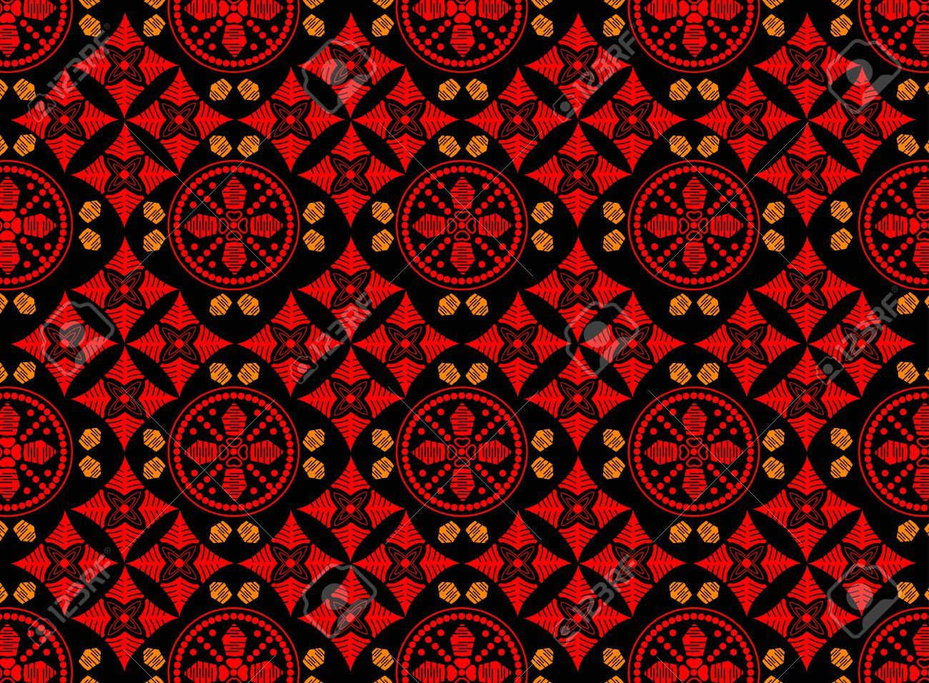 Batik pattern clipart clip free library Stock Vector | diy projects | Batik art, Indonesian art, Art clip free library