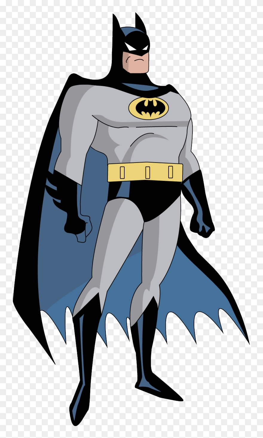 Batman the animated series clipart svg freeuse library Batman Clip Art Batman No Background Clipart - Batman Animated ... svg freeuse library