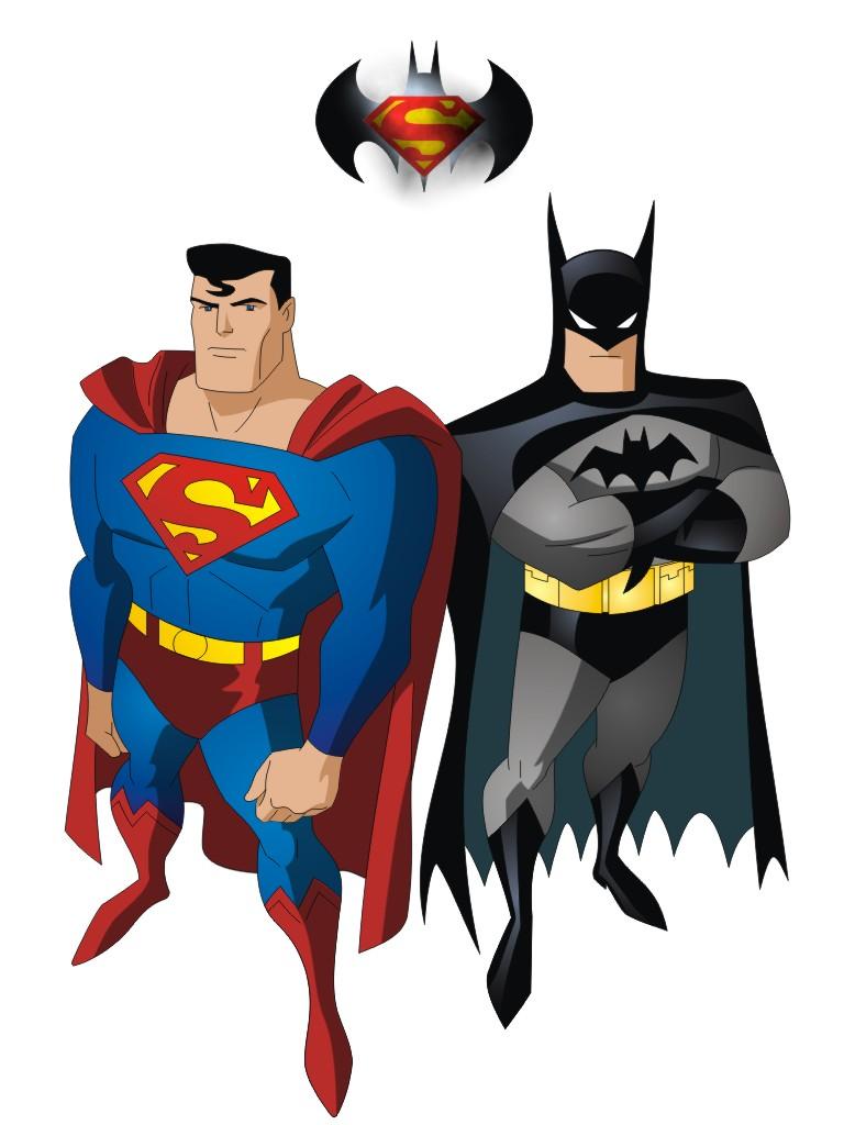 Batman and superman clipart library Batman and superman clipart - ClipartFest library