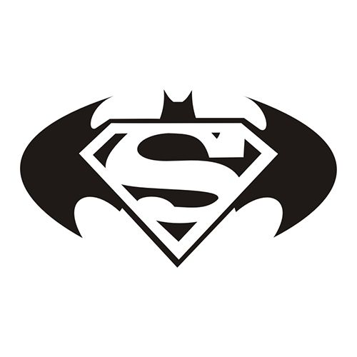 Batman and superman clipart picture black and white library Batman vs superman clipart - ClipartFest picture black and white library
