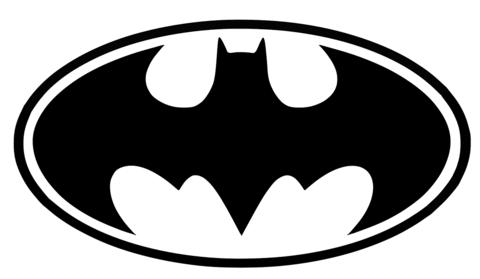 Batman logo clipart template picture freeuse library Batman Logo Printable Template | Free Printable Papercraft Templates picture freeuse library