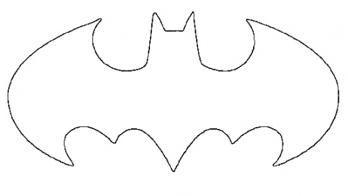 Batman logo clipart template svg royalty free download Free Batman Symbol Stencil, Download Free Clip Art, Free Clip Art on ... svg royalty free download