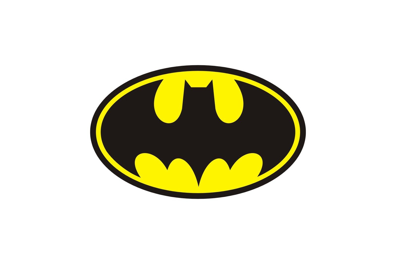 Batman logo clipart template image freeuse library Batman Logo Printable - ClipArt Best | School stuff in 2019 ... image freeuse library