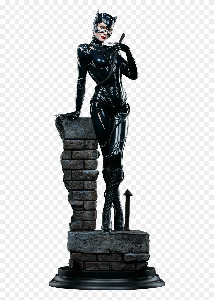 Batman returns clipart clip art library library Batman Returns - Catwoman 1:4 Scale Statue Clipart (#424522 ... clip art library library