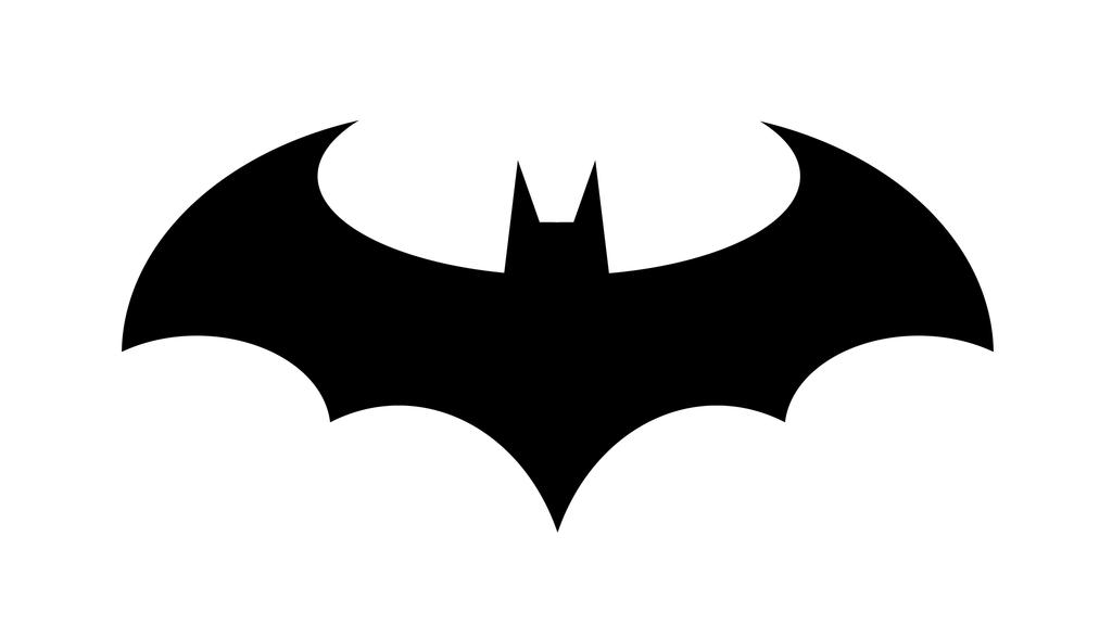 Batman running paint logo clipart image stock Free Batman Symbol Outline, Download Free Clip Art, Free Clip Art on ... image stock