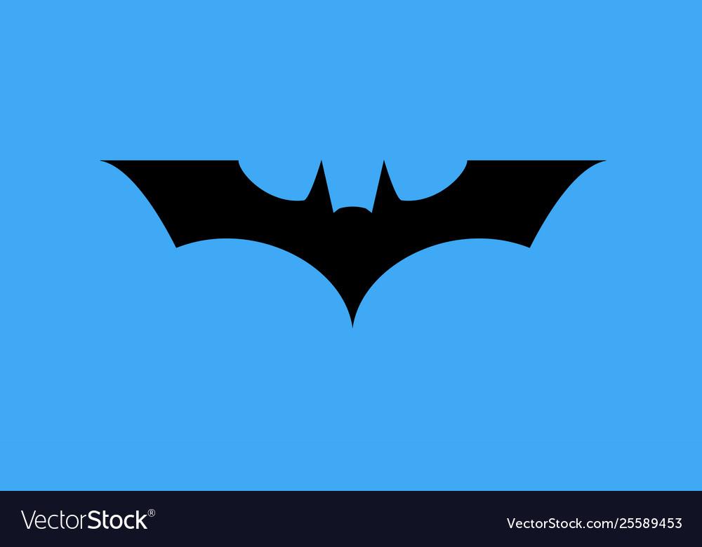 Batman sign in sky clipart image download Batman logo icon image download