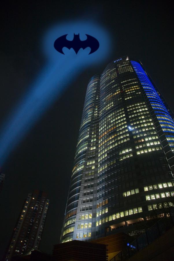 Batman sign in sky clipart picture transparent stock Holy sky glow Batman! | Ecology Ngātahi picture transparent stock