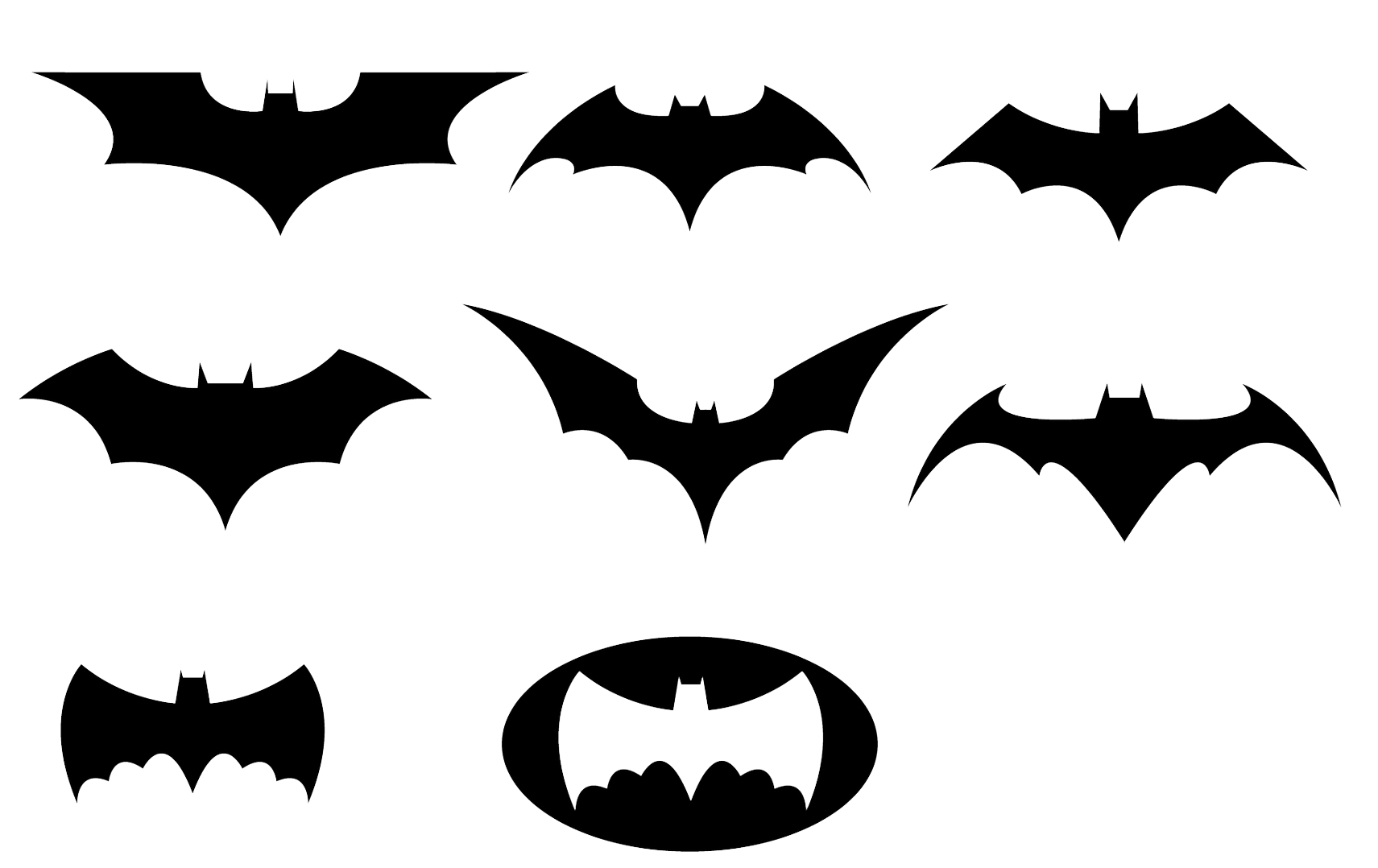 Batman throwing star clipart clip free library Batman Black And White Logo Clipart Transparent Background clip free library