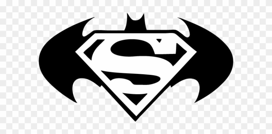 Batman v superman batman cliparts picture library stock Superman Logo Clipart Real - Batman Superman Logo Tattoo - Png ... picture library stock