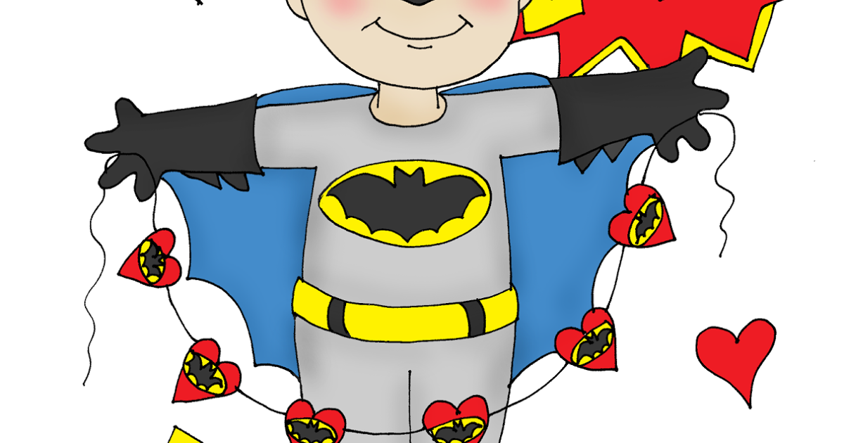 Batman valentine clipart clipart library library Free Dearie Dolls Digi Stamps: As requested....Batman Valentine clipart library library