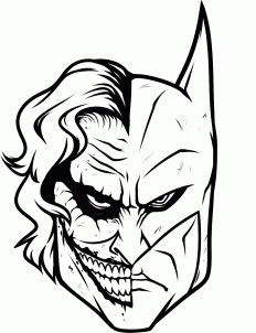 Clipartfest free and lineart. Batman vs joker clipart