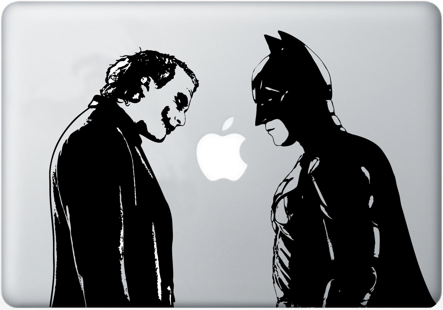 Batman vs joker clipart. The dark night decal