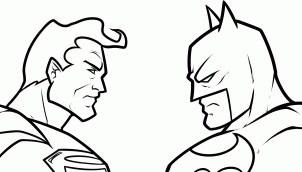 Batman vs superman clipart freeuse library Batman vs superman clipart - ClipartFest freeuse library