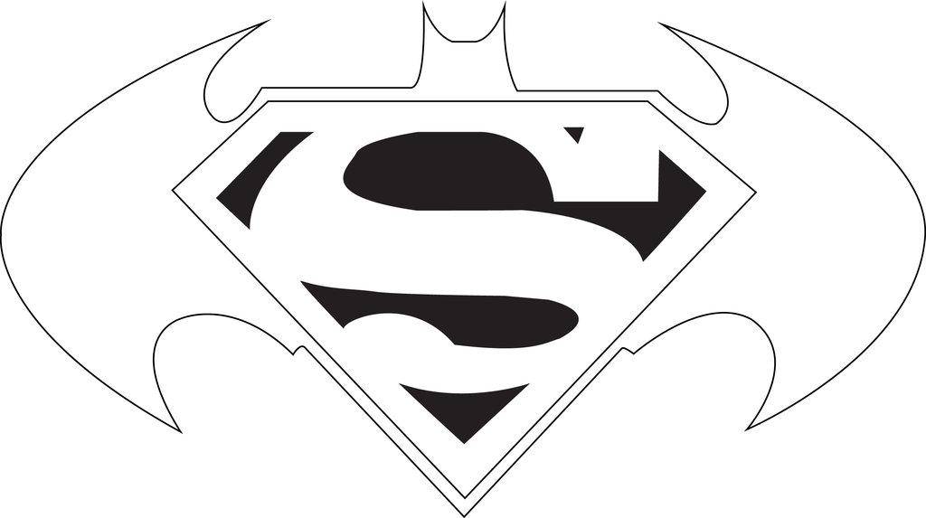 Batman vs superman clipart library Superman and batman logo clipart - ClipartFox library