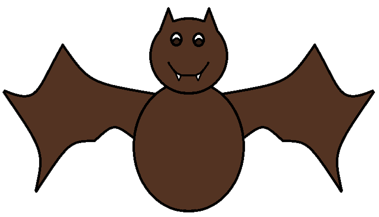 Halloween animal clipart svg library stock Bat Clipart | jokingart.com svg library stock