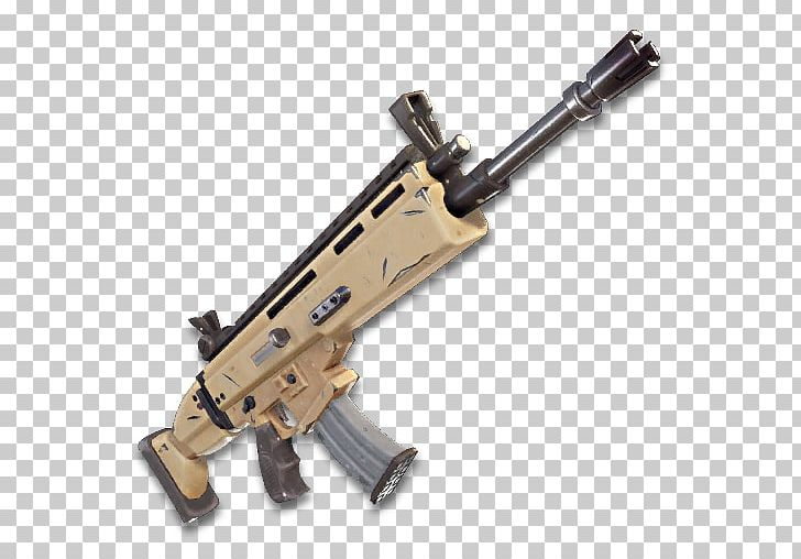 Battle rifle clipart picture transparent stock Fortnite Battle Royale FN SCAR Assault Rifle Weapon PNG, Clipart ... picture transparent stock