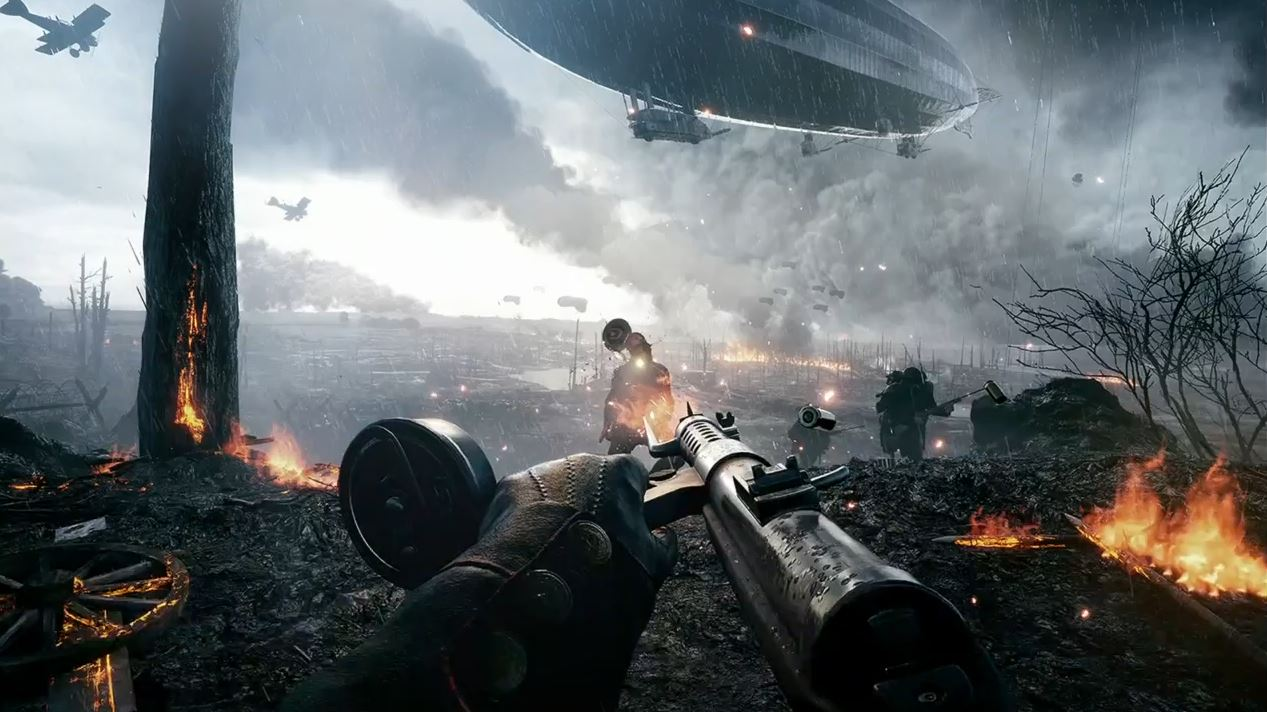 Battlefield 1 clipart png library stock Battlefield 1 is excellent because the series has stopped trying ... png library stock