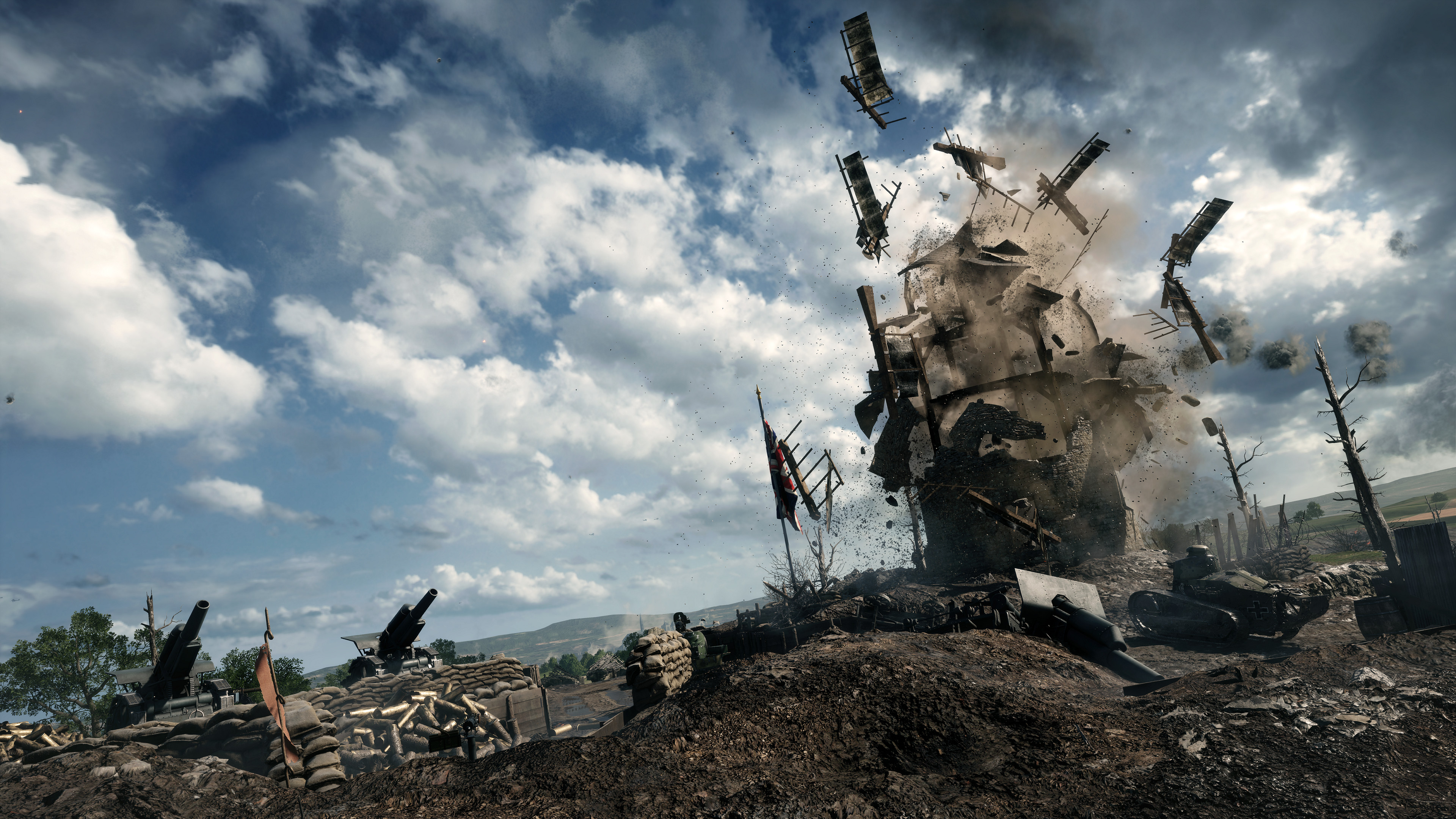 Battlefield 1 clipart 4k banner black and white library Battlefield 1 is excellent because the series has stopped trying ... banner black and white library