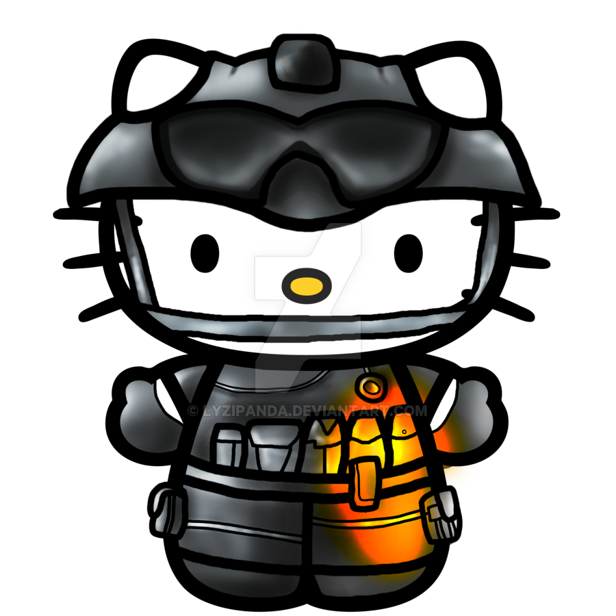 Battlefield 3 clipart clipart download Hello Kitty Battlefield 3 by LyziPanda on DeviantArt clipart download