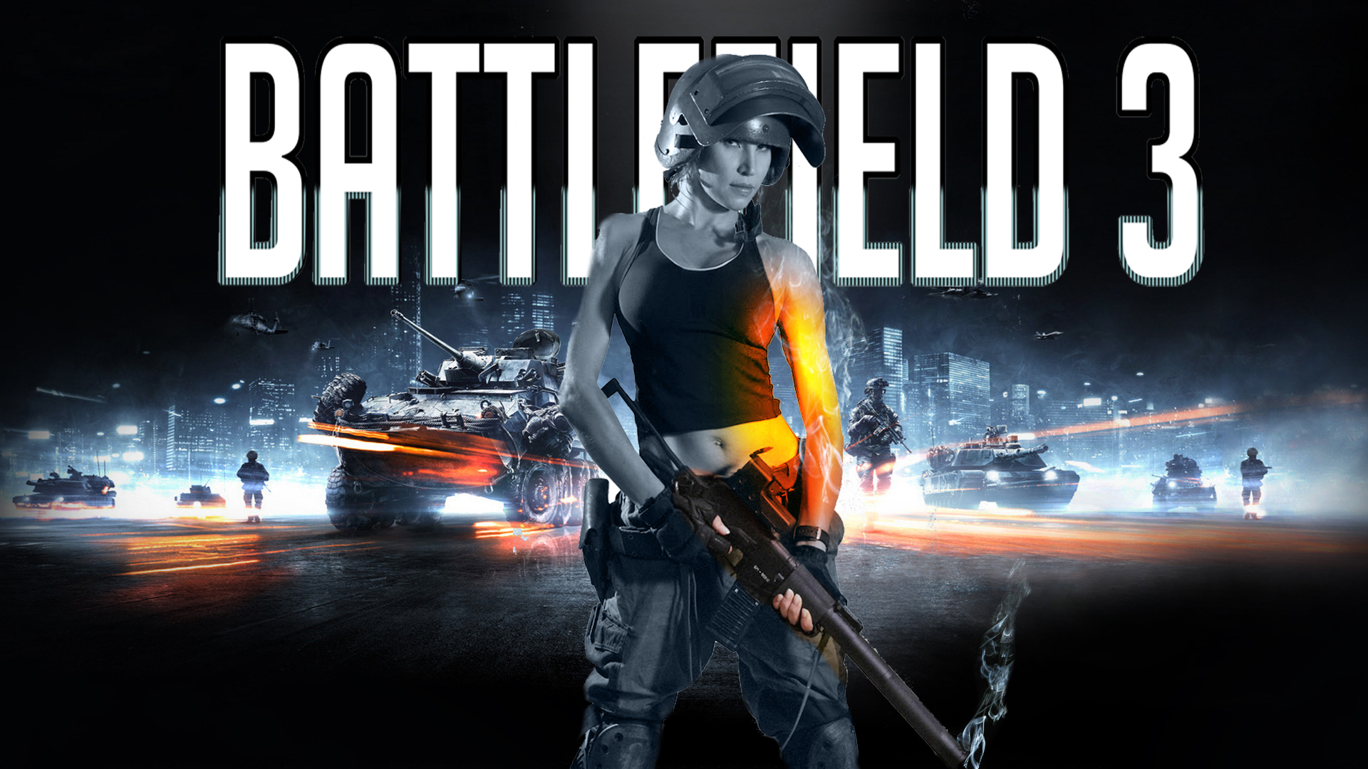 Battlefield 3 clipart svg royalty free Battlefield 4 girl clipart - ClipartFox svg royalty free