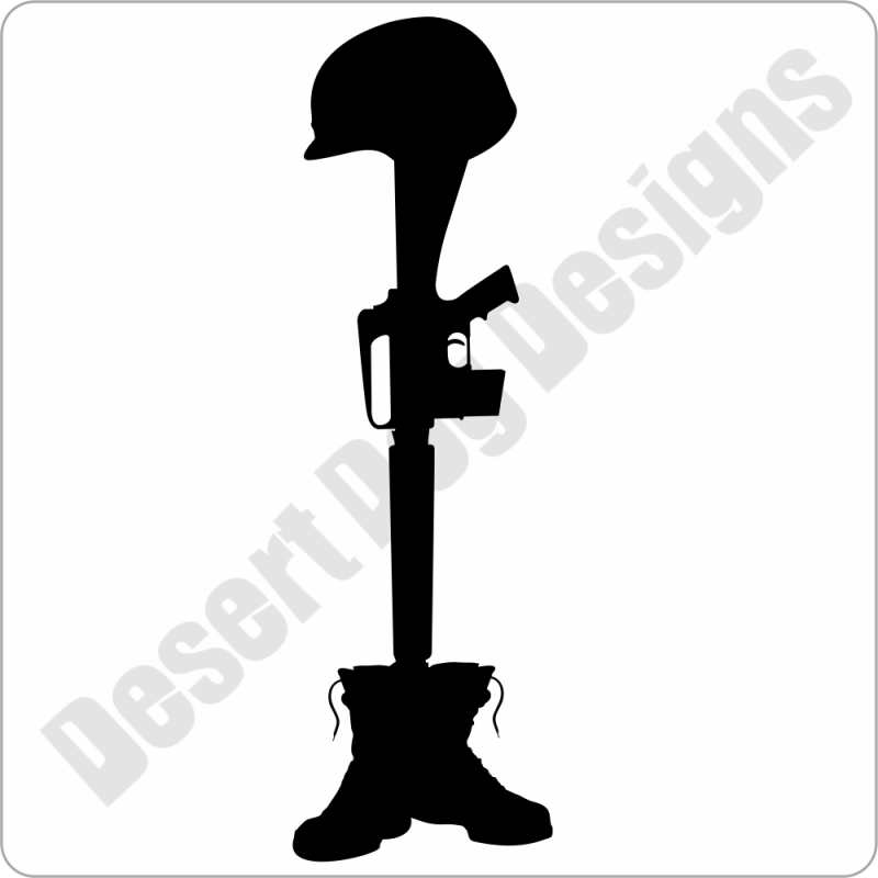 Battlefield cross clipart vector freeuse Cross - DECAL vector freeuse