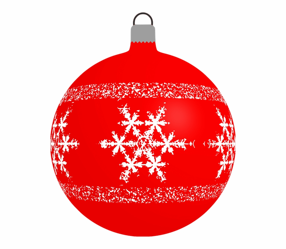 Bauble clipart graphic transparent stock Red Snowflake Cliparts - Christmas Bauble Clipart Vector Free PNG ... graphic transparent stock