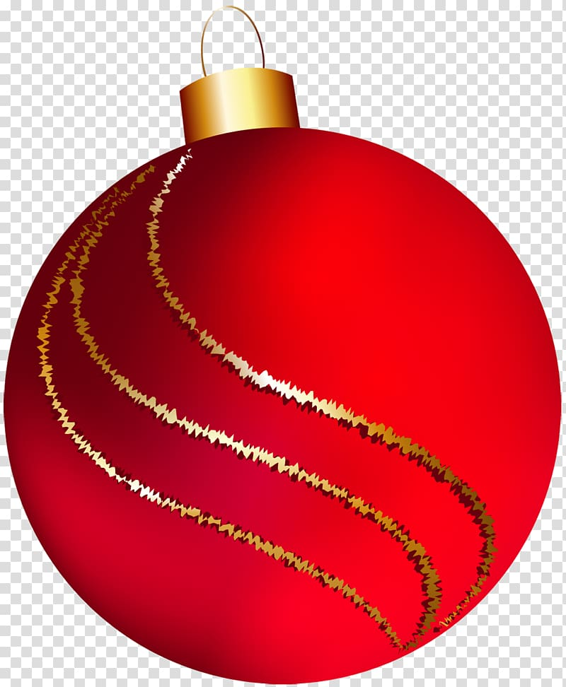 Bauble clipart freeuse Red bauble illustration, Christmas ornament Christmas decoration ... freeuse