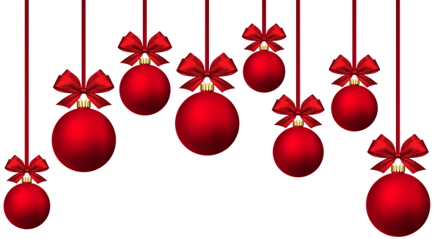Bauble images clipart download Christmas Baubles Ournament Red Png Min download