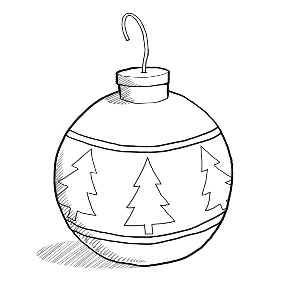 White christmas ornament clipart free svg free library Christmas ornament black and white christmas ornament clipart black ... svg free library