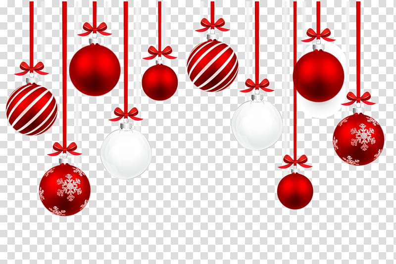 Baubles clipart black and white picture black and white download Red and white baubles , Christmas ornament Illustration, Christmas ... picture black and white download
