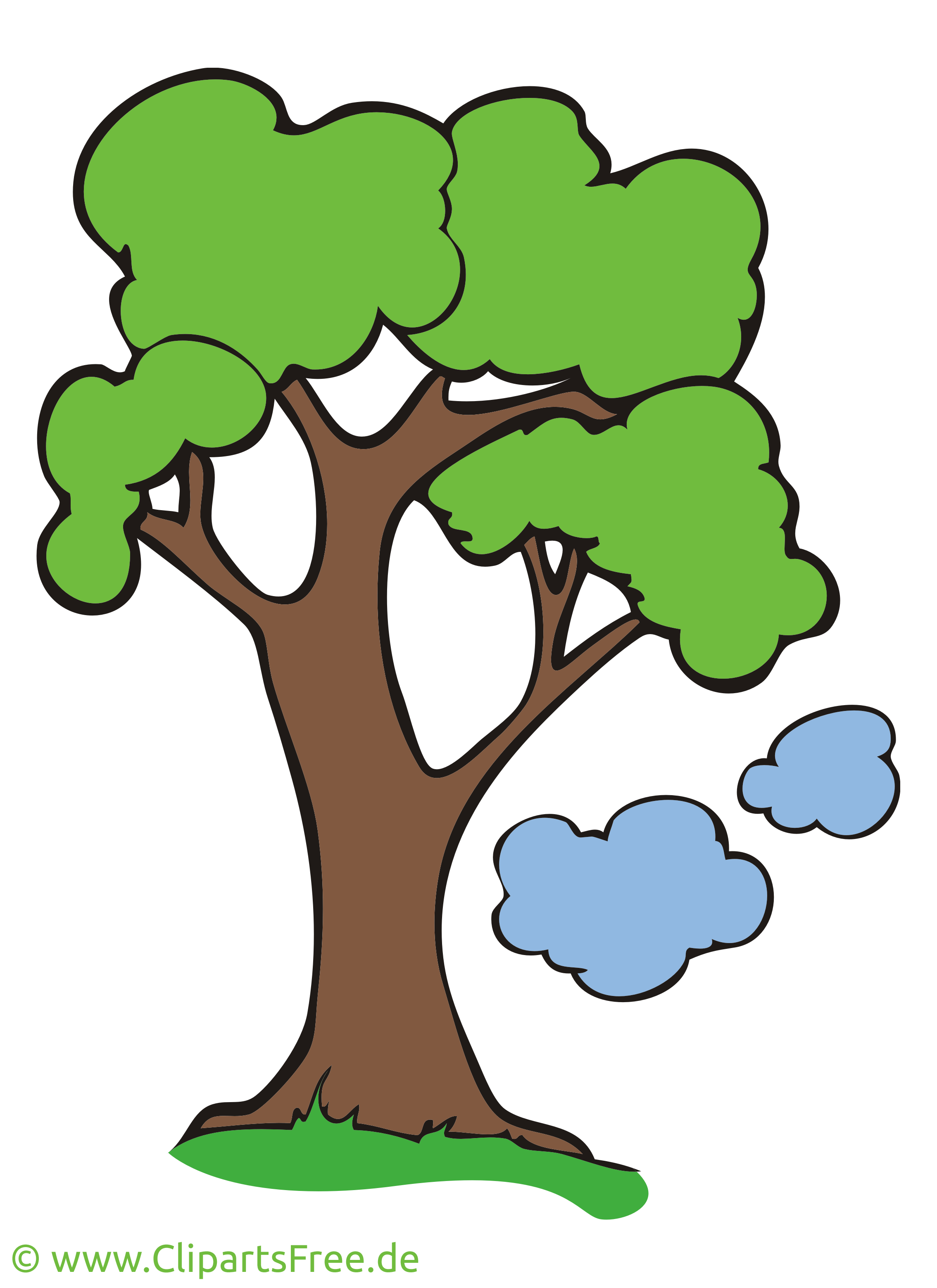 Baum clipart kostenlos picture transparent Pflanzen Bilder, Cliparts, Cartoons, Grafiken, Illustrationen ... picture transparent