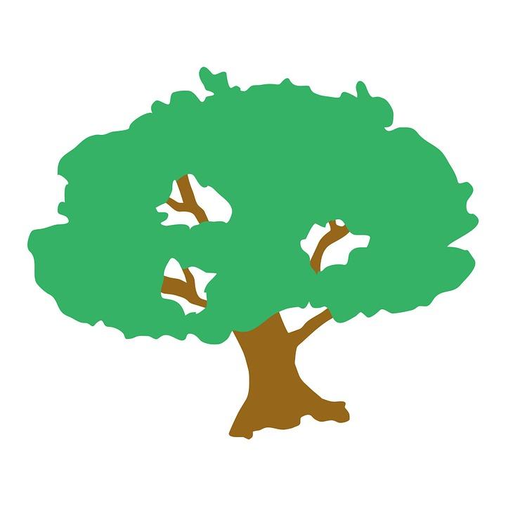 Baum clipart kostenlos banner library Kostenlose Illustration: Baum, Clipart, Grün, Natur, Wald ... banner library