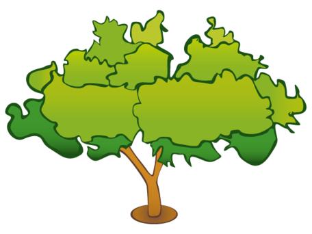 Baum clipart kostenlos. Clipartfest kostenlose vektorbaumbild