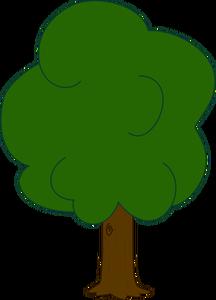 kostenlose public domain. Baum clipart kostenlos