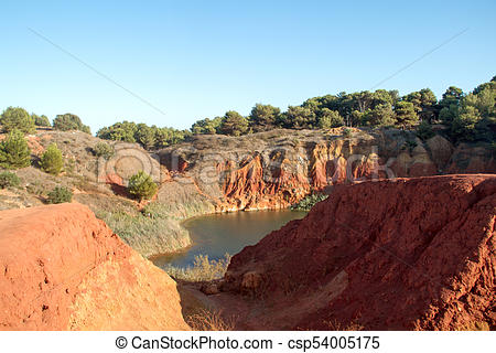 Bauxite clipart jpg library download Bauxite Lake Cave jpg library download
