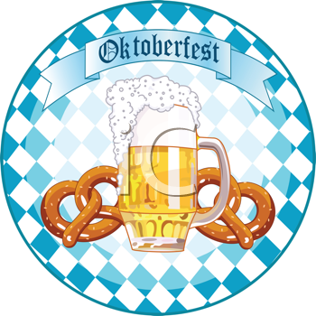 Bavaria logo clipart picture free download German Bavarian Oktoberfest Clipart - Beer and Pretzels | All things ... picture free download
