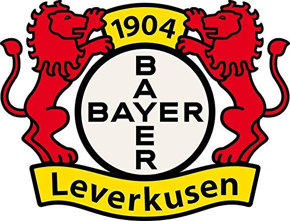 Bayer leverkusen logo clipart image free stock BAYER LEVERKUSEN - Football Club Crest Logo Wall Poster Print - 30CM ... image free stock