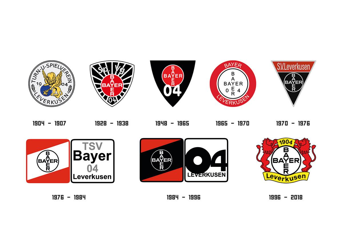 Bayer leverkusen logo clipart clip library BAYER 04 LEVERKUSEN // REDESIGN LOGO on Behance clip library
