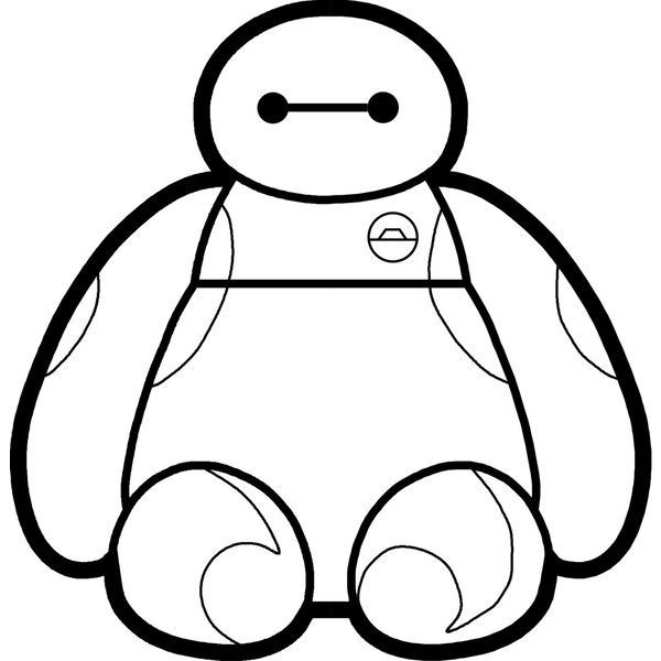 Baymax clipart black and white banner freeuse stock Baymax clipart black and white 3 » Clipart Portal banner freeuse stock