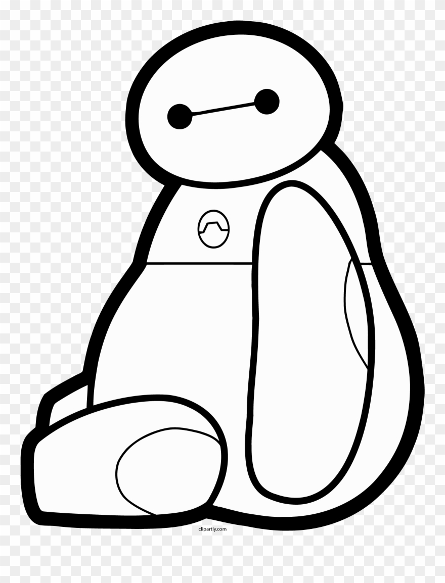Baymax clipart black and white jpg black and white download Baymax Stay Png Clipart - Instant Pot Decals Transparent Png ... jpg black and white download