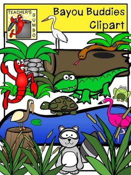 Clipart bayou clip stock Bayou Buddies Clipart clip stock