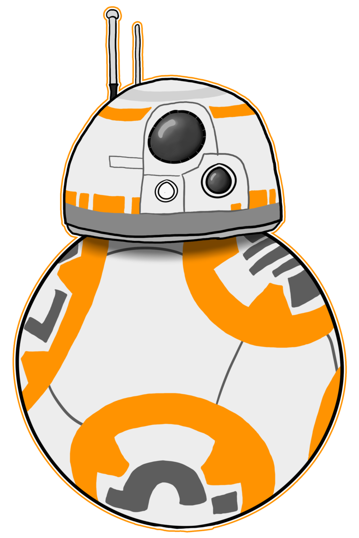 Star wars force clipart jpg transparent library Star Wars The Force Awakens - BB-8 by Rap3Monst3r on DeviantArt jpg transparent library