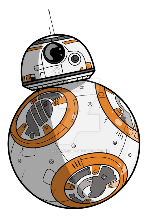 Bb8 star wars clipart clipart royalty free stock BB8 by DaveMilburn on DeviantArt clipart royalty free stock