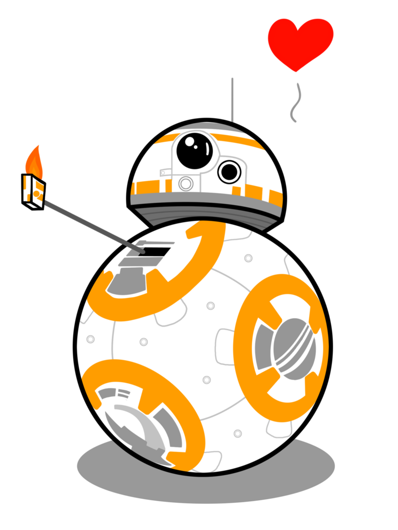 Bb8 star wars clipart jpg royalty free download Star Wars BB-8 thum up love by Sonic-E on DeviantArt jpg royalty free download
