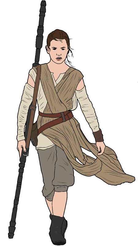 Star wars rey clipart clip library download Star Wars: The Force Awakens Clip Art | Disney Clip Art Galore clip library download