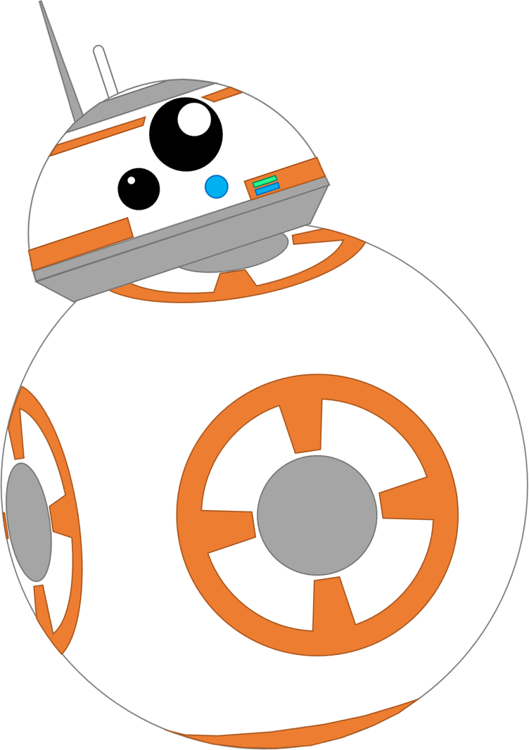 Star wars digital clipart png transparent stock Bb8 Clipart at GetDrawings.com | Free for personal use Bb8 Clipart ... png transparent stock